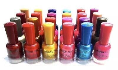 London Girl Nail Polish Varnish Set Of 24 Different Colours The Best Gift