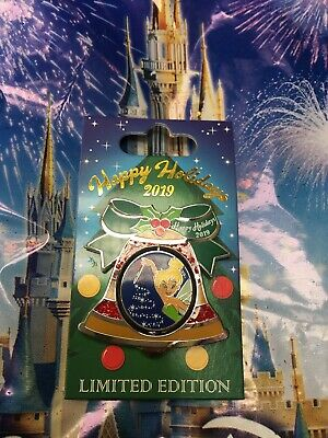 Disney Happy Holidays 2019 Contemporary Resort Bell Tinker Pin LE New In Hand