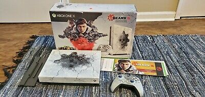 Microsoft Xbox One X 1TB Gears 5 Limited Edition (OPEN BOX! CODES UNUSED!!)