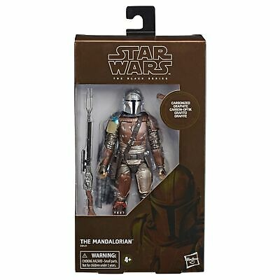"""STAR WARS BLACK SERIES 6"""" inch CARBONIZED THE MANDALORIAN ACTION FIGURE"""
