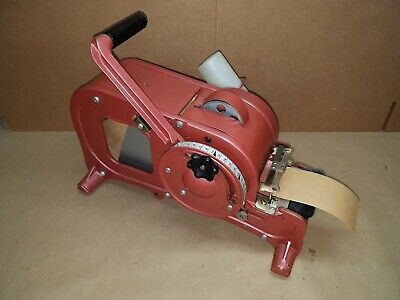 Better Packages Tapeshooter Tape Dispenser, Model 100 Excellent Condition
