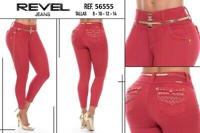 REVEL,Jeans Colombianos, Authentic Colombian Push Up Jeans,Levanta Cola