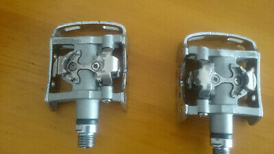 Shimano Pedales PD-M324 Duo-Pedal Plata