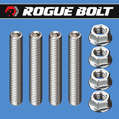 Arp 430-7402 Sbc Small Big Chevy Bbc Stainless Thermostat  Bolts Waterneck