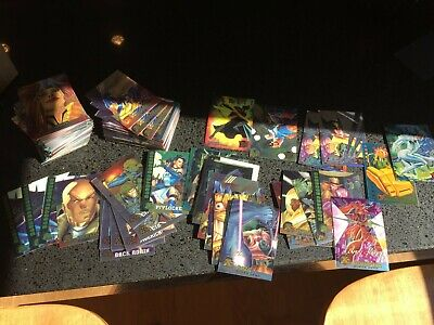 1995 Fleer Ultra X-Men Lot x181 Trading Cards, Chase Cards