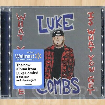 +MAGNET----> LUKE COMBS What You See Is What You Get EXCLUSIVE CD 0108