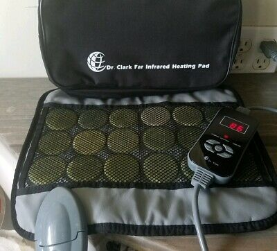 Far Infrared Jade Stone Heating Pad Mini Travel By Dr. Clark Tested!