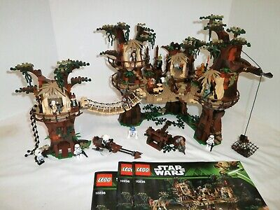 Brand New Sealed Star Wars Ewok Village 10236 DHL Fast Shipping Instruction