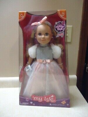"My Life as a Winter Princess Doll 18"" My Life Holiday Doll"