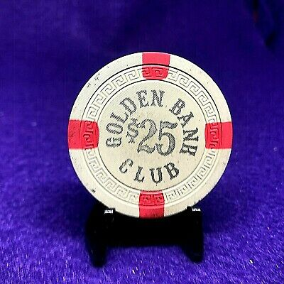 $25 Golden Bank Club Vry Rare R8 6Th Iss 1950S G-Vg W/Stand,Cap Book Over $200+