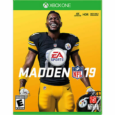 Madden NFL 19 for Xbox One - BRAND NEW & FACTORY SEALED - Madden 19 Football