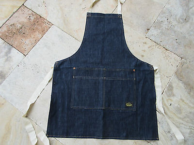 Denim 14Oz BBQ Apron Grill Apron Barber Apron Hairdresser Tattoo Lutece Mfg Co