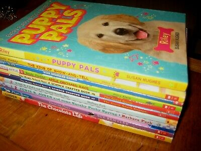 10 Kids CHAPTER BOOK LOT 2nd 3rd 4th Grade Level Reading Books