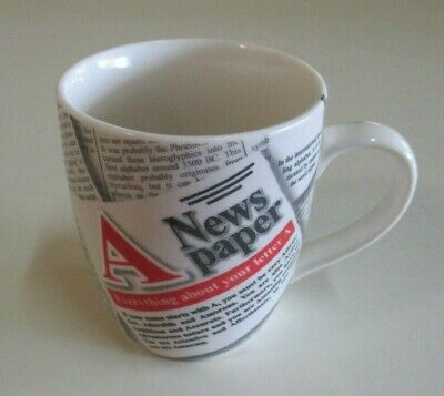 Newspaper Design Mug - 'Everything about your letter A' - Meaning & Origin...