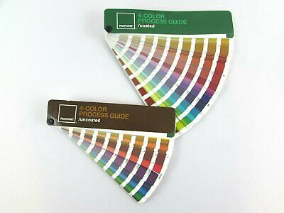 Pantone 4-Color Process Guide Set Coated/Uncoated CMYK Values