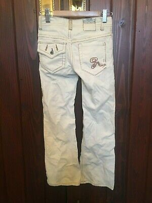 Vintage Girls White Jeans By Guess Size 8