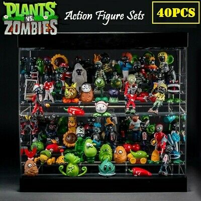 Zombies Action Figures PVC Toy Collectable Gift No Repeat 80pcs//set Plants vs