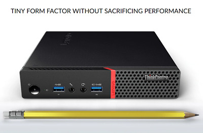 Lenovo ThinkCentre M900 Tiny U-SFF Desktop  12GB RAM 1TB SSHD Quad Core i5 vPro