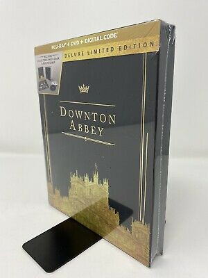 Downton Abbey (Movie, 2019) Deluxe Limited Edition (Blu-ray + DVD + Digital)