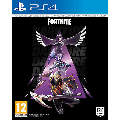Fortnite Darkfire Bundle PS4 inc 13 items worth over £70 IN STOCK NOW New/Sealed