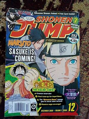 Shonen Jump December 2009 - Volume 7 Issue 12 (with free Naruto card)