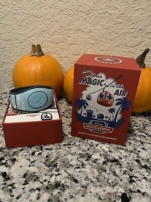 New Disney Skyliner Magic In The Air Band Limited DVC Unlinked Magicband Mickey