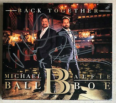 Michael Ball & Alfie Boe * Back Together * Signed 13 Trk Cd * New & Sealed!