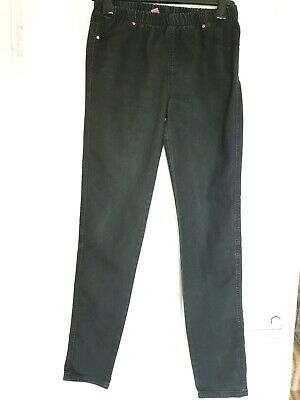 Great Condition Denim & Co Black Jeggings Size 12