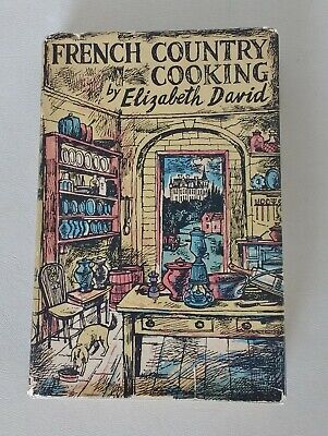 French Country Cooking - Elizabeth David.  First Edition 1951