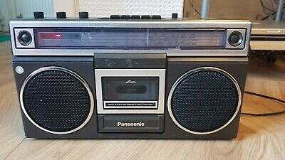 Vintage Panasonic RX-5012LE Radio Cassette Recorder, please read drescription