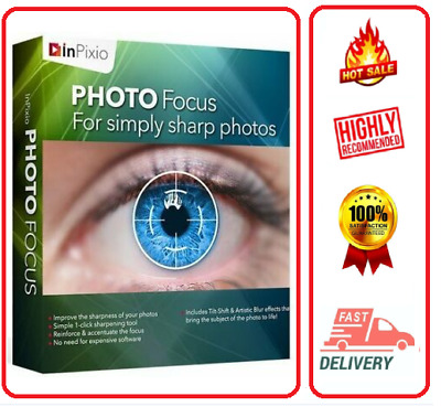 🔥Inpixio Photo Focus 4  ☑Lifetime Activation☑Fast Delivery ☑Unlimited Install🔥