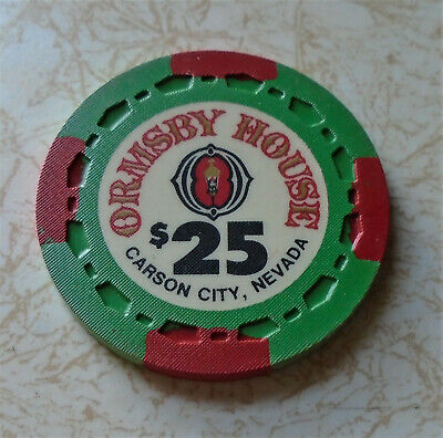 Obsolete, Early Ormsby House $25.00 Casino Chip