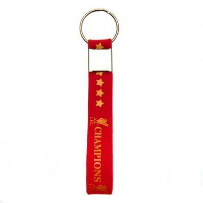 Liverpool FC Champions Of Europe Silicone Keyring CHRISTMAS Birthday Present