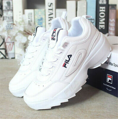 FILA Womens Disruptor II 2 Sneakers Casual Athletic Walking Sports Shoes Size2-9