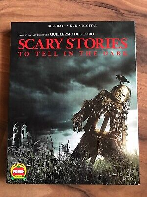 NEW - Scary Stories To Tell In The Dark - Blu-ray + DVD + Digital with slipcover