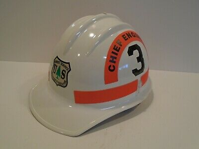 Bullard Model FH911C/CE Wildland Fire Helmet Chief Engineer US Forrest Service