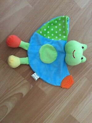 Cute Frog Baby Comforter Blanket by First Steps