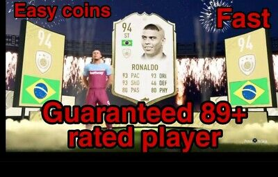 Fifa 20 RANDOM 89+ PLAYER COIN VALUE XBOX ONE (QUICK AND EASY COINS)