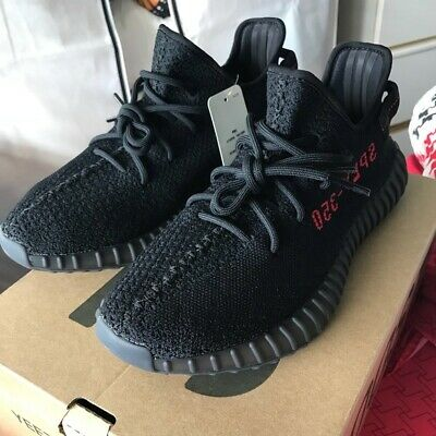 New in box with tag - ADIDAS YEEZY BOOST 350 V2 'bred' Men's size 9.5