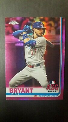 2019 Topps Chrome Update #88 Kris Bryant ASG Pink Refractor Target Cubs