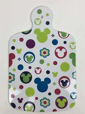 Disney Mickey Mouse Cutting Board Color Fusion Icon Theme Parks NEW