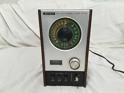 Vintage Sony ST-80F AM/FM Stereo Tuner