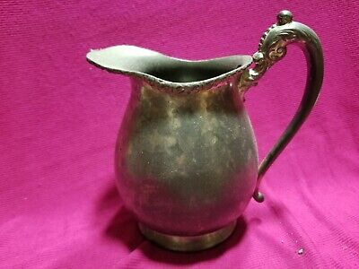 Vintage Sheffield Silver Plate Epns Royal Rochester Water Pitcher 2422S