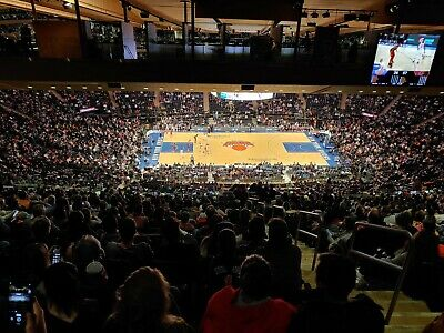 Knicks Nuggets MSG 6 tickets barstool seats 12/5 buy 1 or 6, Section 223 row B25