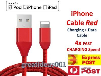 Certified USB Lightning Cable Data Cord For Apple Charger iPhone iPad 7 X 8 6 5