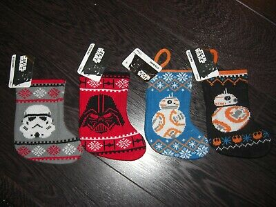 NEW Christmas Large stocking Disney Star Wars R2D2 droid