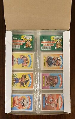 Garbage Pail Kids 2nd-4th Series 24 Unopened Rack Pack BOX-UNBELIEVABLE RARE TWT