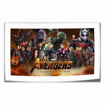"16""x26""Marvel Avengers HD Canvas print Painting Home decor Room Picture Wall art"