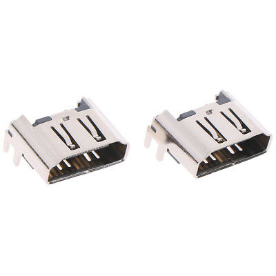 2Pcs Hdmi Port Connector Socket Replacement For Play Station 4 Ps4 Console JD