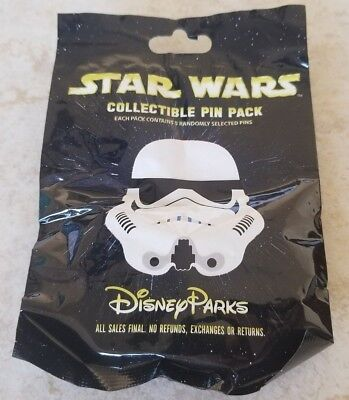 Disney Trading Pins Lot of 5 Collectible Pack Star Wars Stormtrooper Helmets New